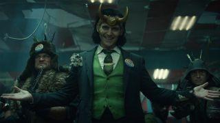 Tom Hiddleston as Loki in Marvel's Loki season 1