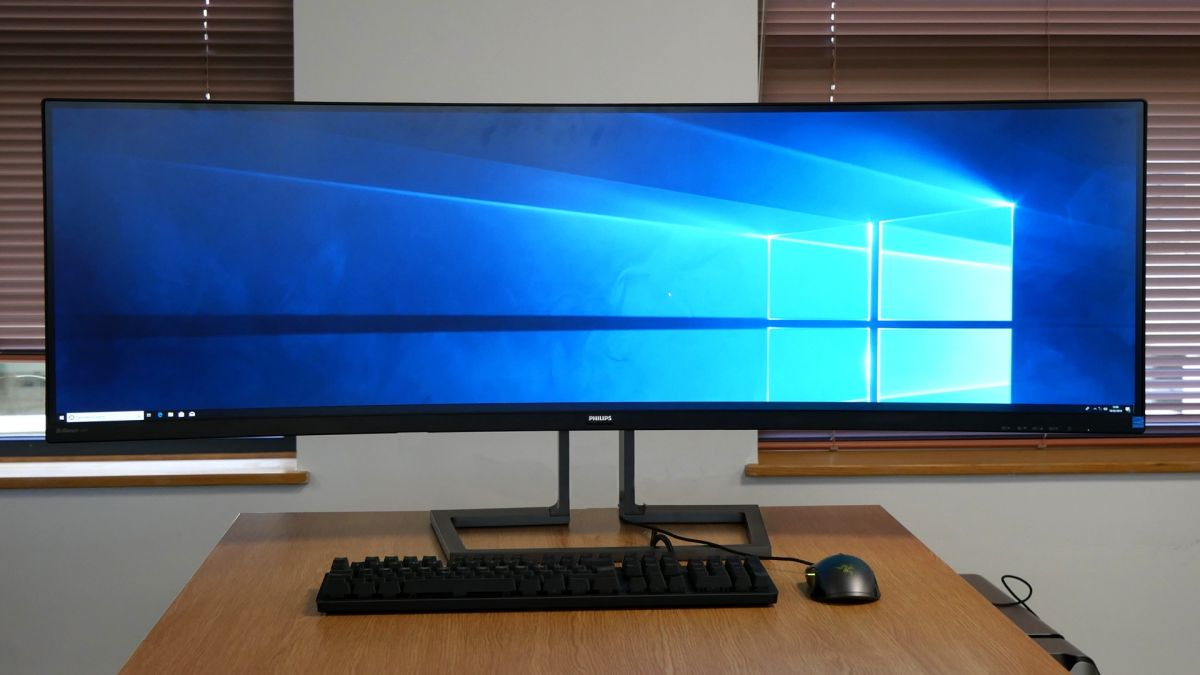 This stunning 49-inch business monitor has 3 features all displays should have