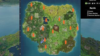 Fortnite Carbide And Omega Poster Locations Guide