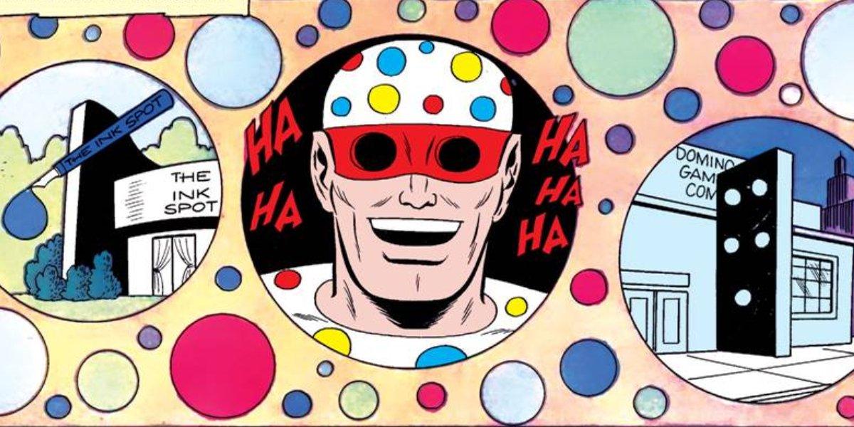 Polka-Dot Man's dot-related crimes