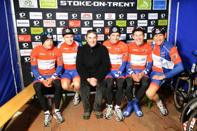 Nigel Mansell and UK Youth, Tour Series 2013, Stoke-on-Trent