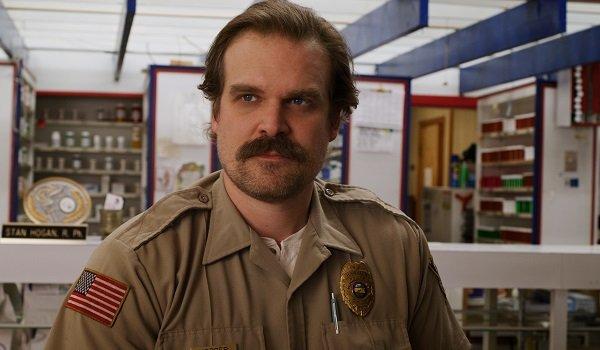 David Harbour Sheriff Hopper Stranger Things Netflix