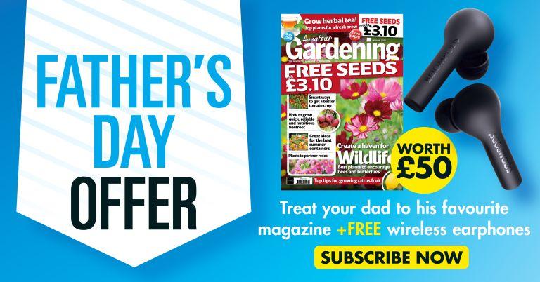 Amateur Gardening magazine subscription offer