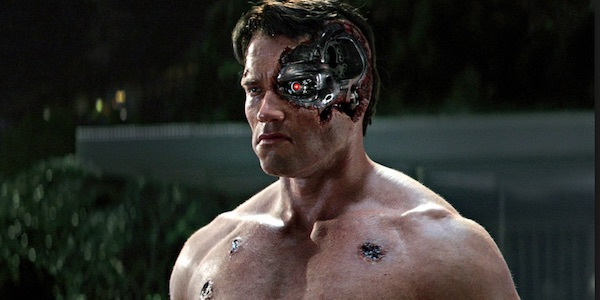The young Terminator in Genisys