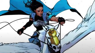 Marvel's new Valkyrie has a dark past but she's looking more and more familiar