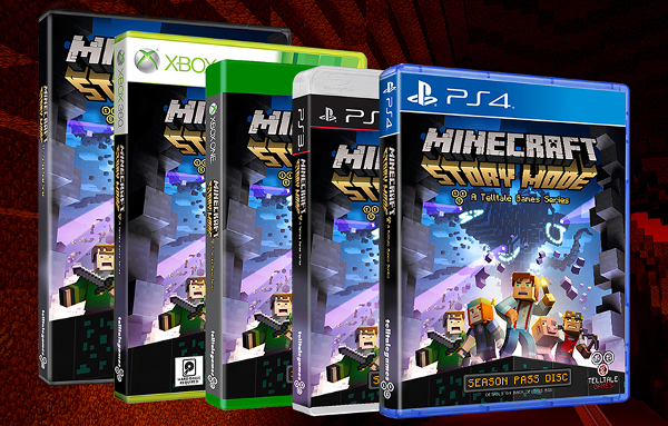 Minecraft: Story Mode boxed copies