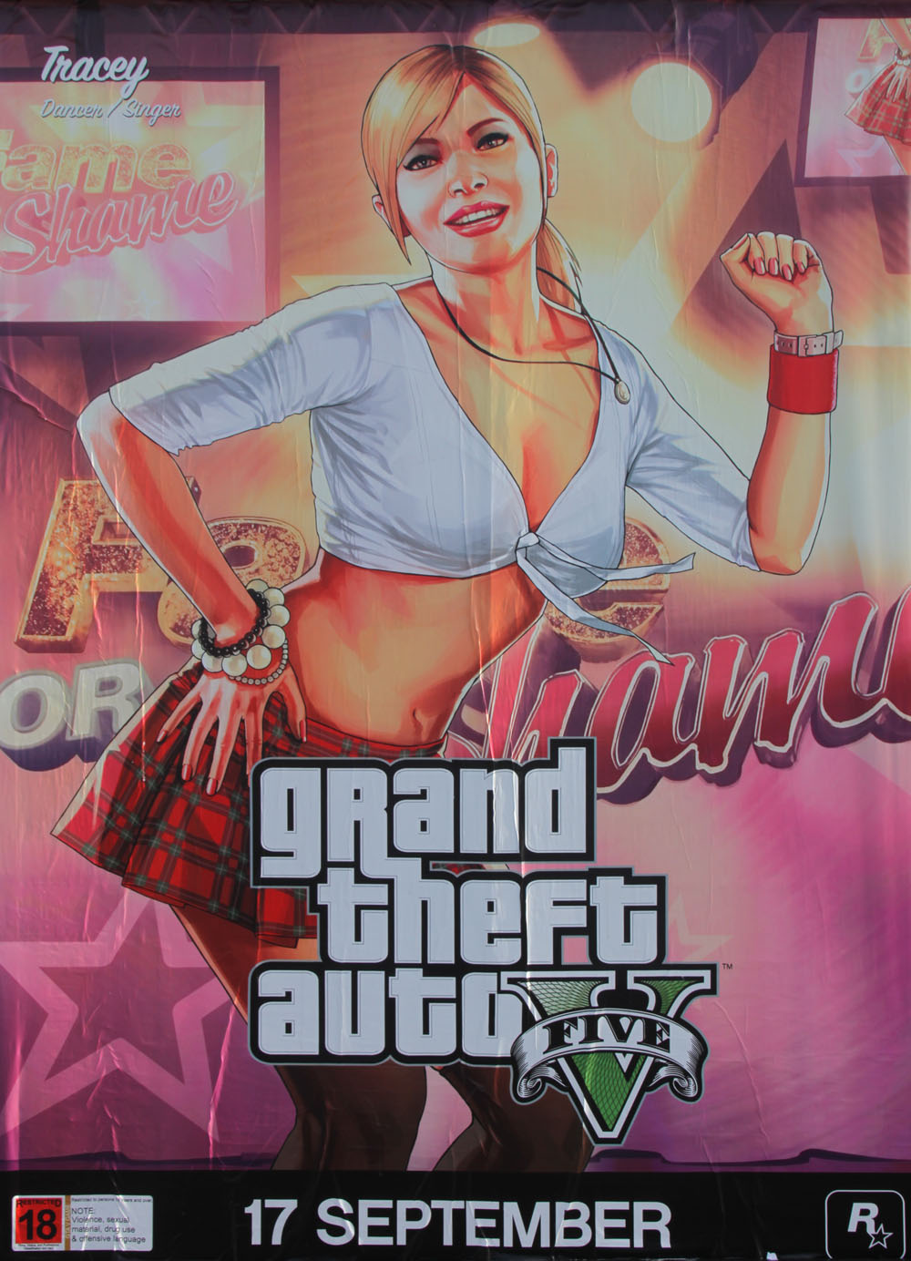 GTA 5 Posters Introduce New Characters #28778