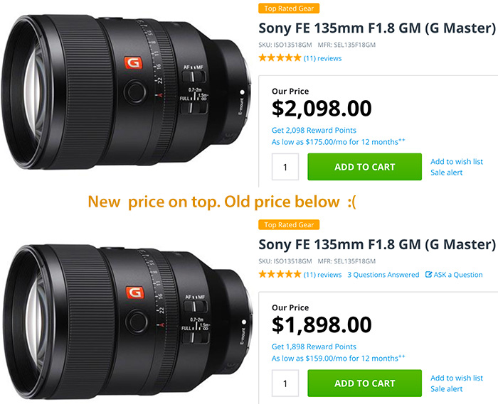 Sony lens price increases by $200 – is the US-China trade war to blame? | Digital Camera World