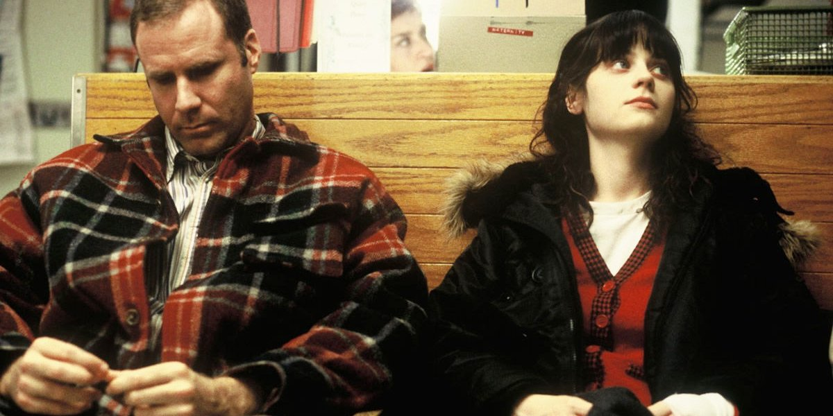 Will Ferrell and Zooey Deschanel in Winter Passing