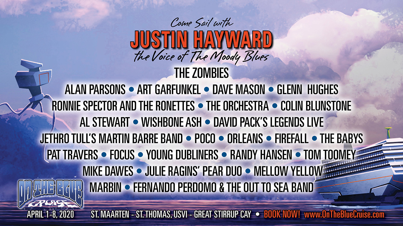 Justin Hayward, Alan Parsons, The Zombies and more set for On The Blue Cruise | Louder