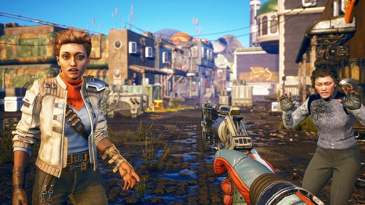 """Anyone you see, you can kill"": Obsidian confirms every NPC in The Outer Worlds can permanently die"