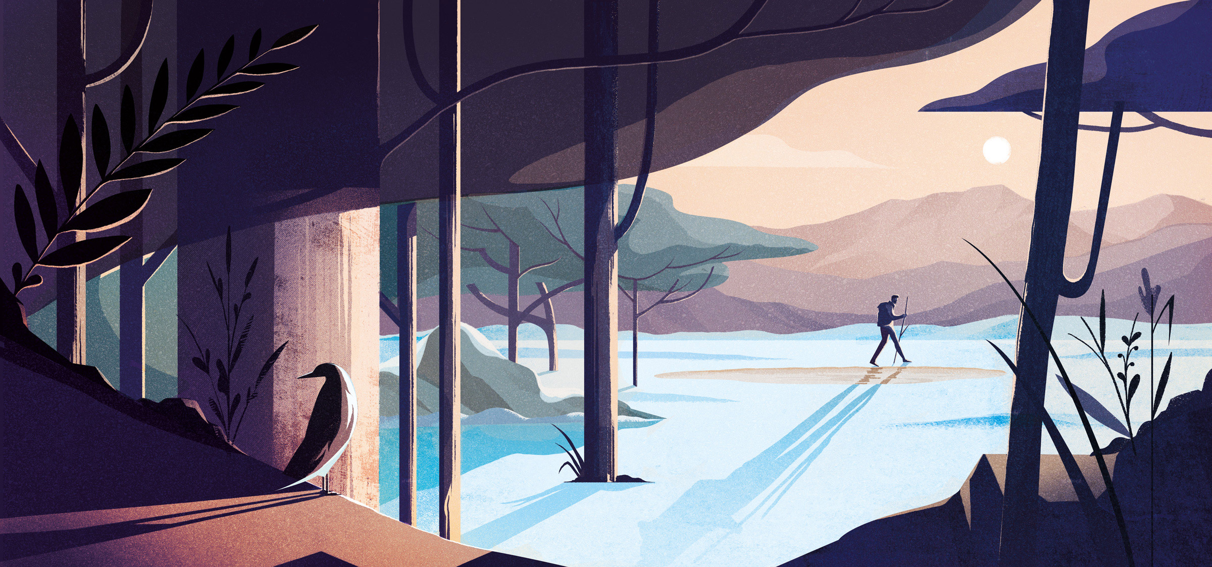 Use the Pen tool and textures to add depth in Photoshop
