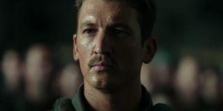 "Miles Teller as Bradley ""Rooster"" Bradshaw in Top Gun: Maverick (2021)"