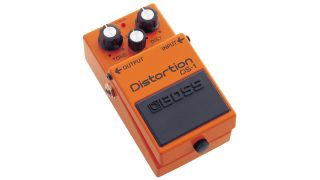 Get 25% off a classic Boss DS-1 distortion pedal, and nab 2 BIC-PC patch cables while you're at it