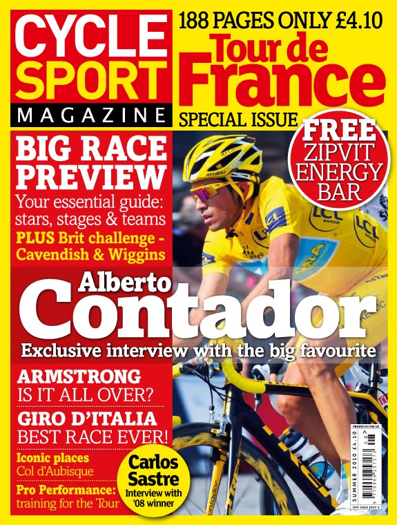 Cycle Sport Summer 2010, Tour de France guide
