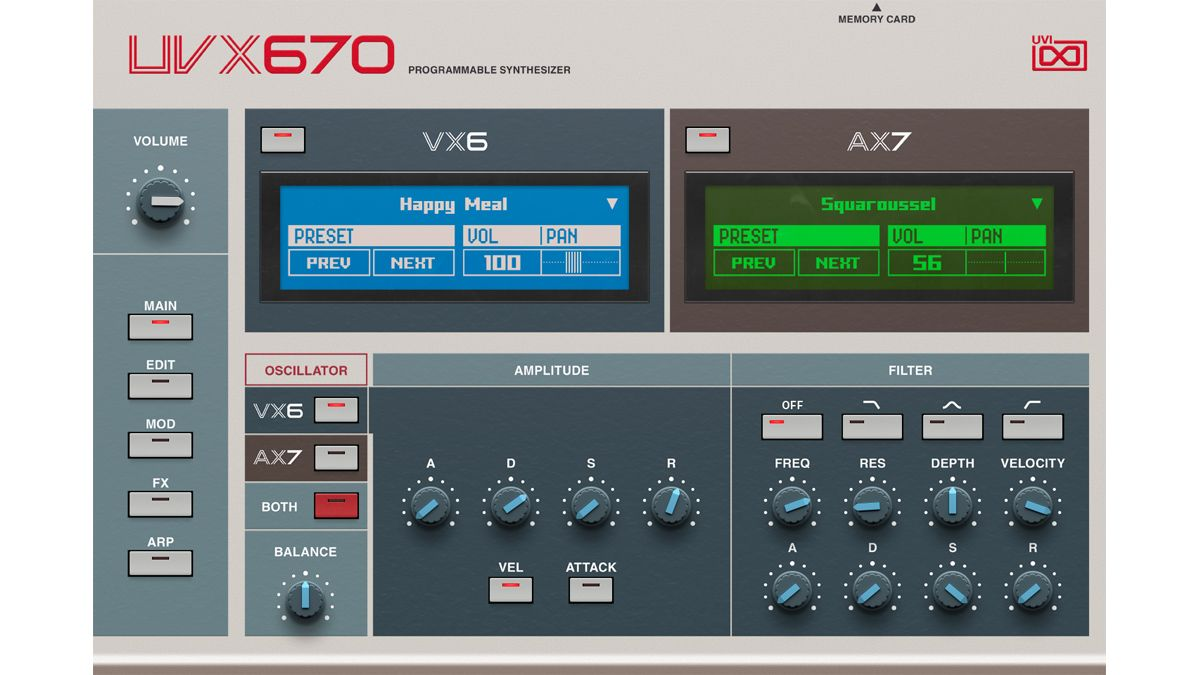 UVI's UVX670 plugin combines two little-known '80s Akai synths to