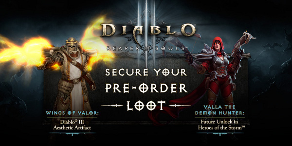 Diablo 3 Patch 2 0 1 Launching Today Pre Order Bonuses Announced