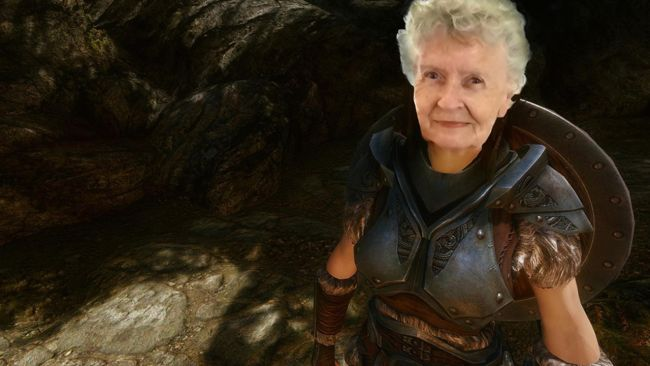 Petition to immortalize Shirley Curry as an NPC in TESVI : skyrim