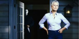 Halloween's Jamie Lee Curtis Not Going Pantsless Like Alexandra Daddario, But Did Learn Pants Lesson In Quarantine Era