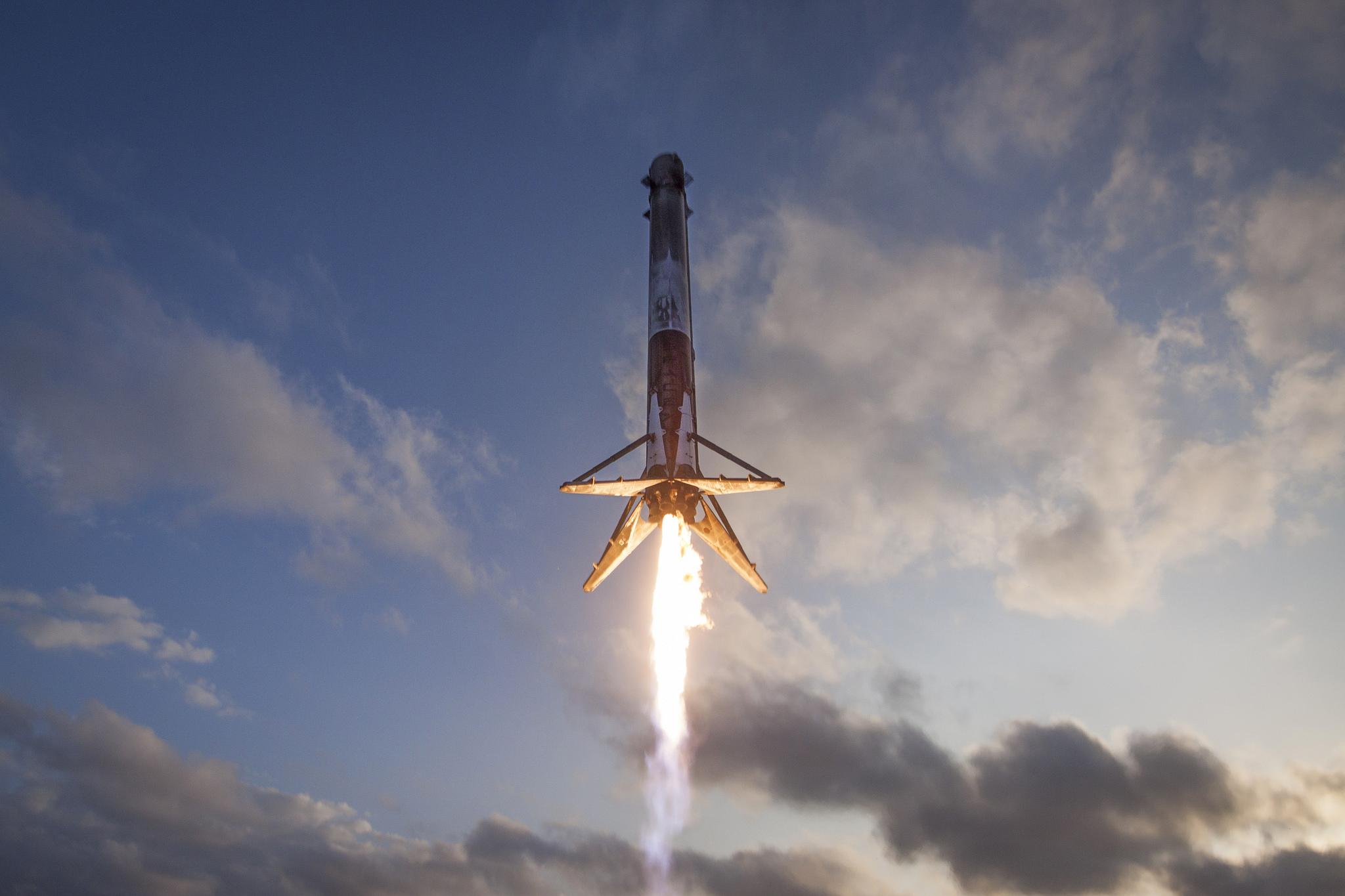 SpaceX's reused rockets