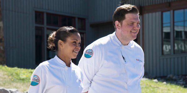 top chef finalists adrienne cheatham and joe flamm