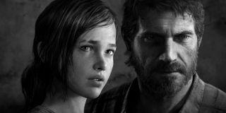 Ellie and Joel in The Last of Us promo (2013)