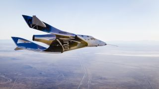 First Glide Flight for VSS Unity