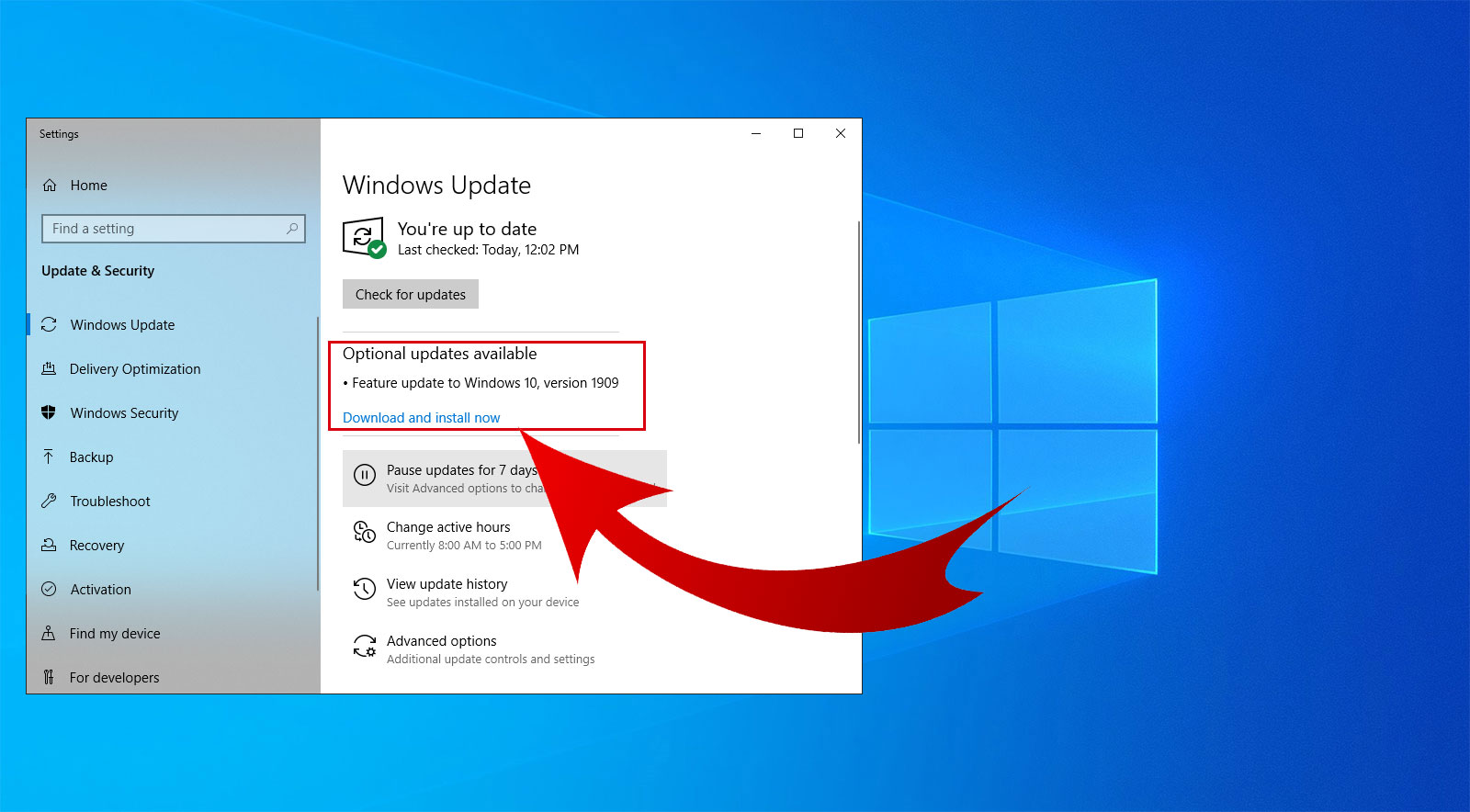 Image result for How to update windows 10