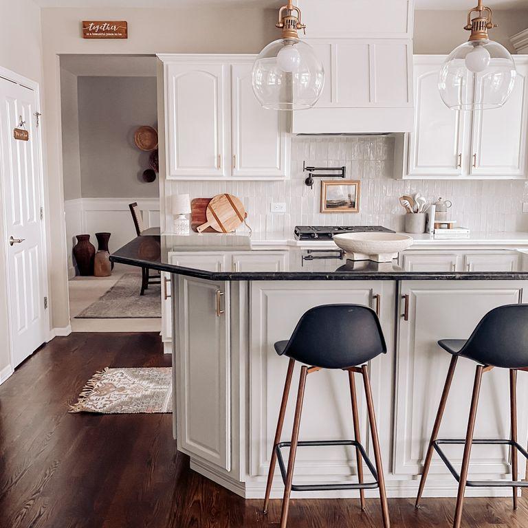 liz hartmann white kitchen update