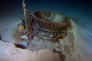 Apollo 11 F1 Engine Thrust Chamber Seabed