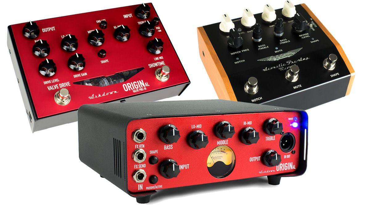 Summer NAMM 2017: Ashdown debuts OriginAL compact bass amp ...