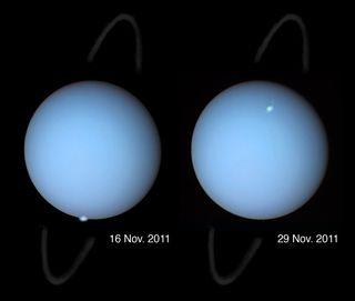 Uranus auroras