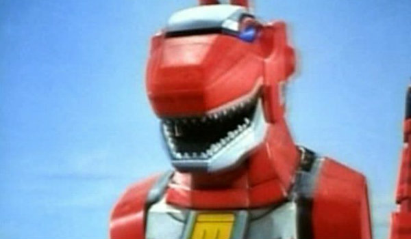 Red Ranger zord
