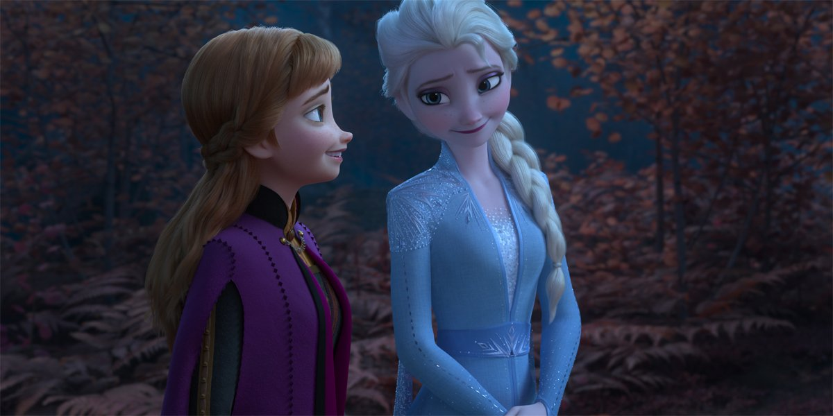 Anna and Elsa together in Frozen II