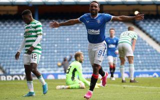 Rangers striker Jermain Defoe | Rangers v Celtic live stream