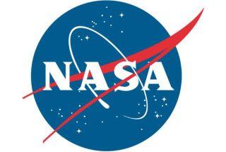 NASA's iconic emblem.