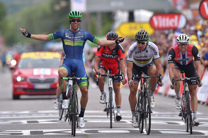 Michael Matthews (Orica-BikeExchange) wins stage 10 at the Tour de France