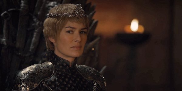 Cersei is crowned, Game of Thrones.