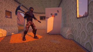 Fortnite challenge stolen IO intel destroy