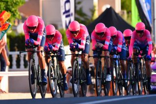 EF Education First in the 2019 Vuelta a Espana team time trial