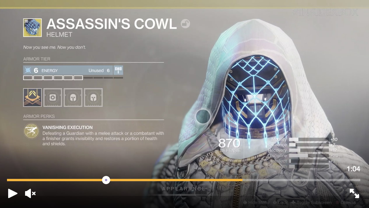 Destiny 2 Gamescom trailer shows off new Shadowkeep exotic | PC Gamer