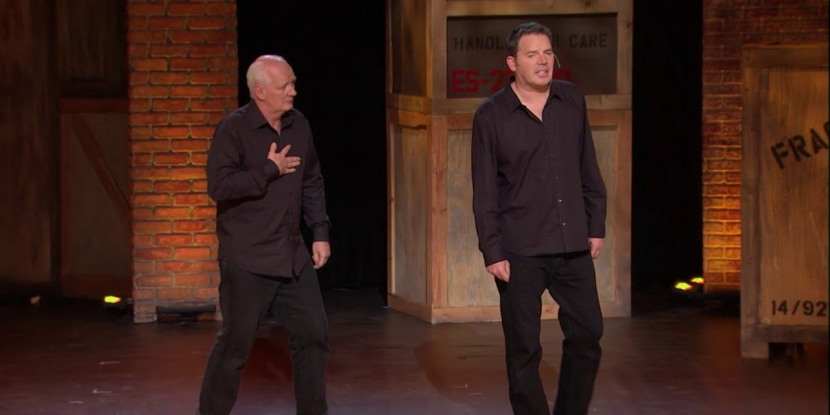 Colin Mochrie and Brad Sherwood in Two-Man Group