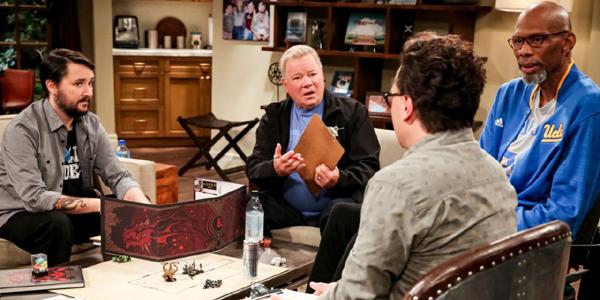 Wil Wheaton William Shatner Kareem Abdul-Jabbar Simon Helberg on The Big Bang Theory Season 12 Episo