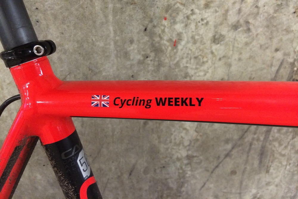 Pegatin custom stickers review cycling weekly