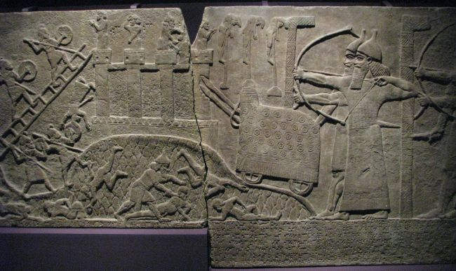 Assyrian Assault Relief