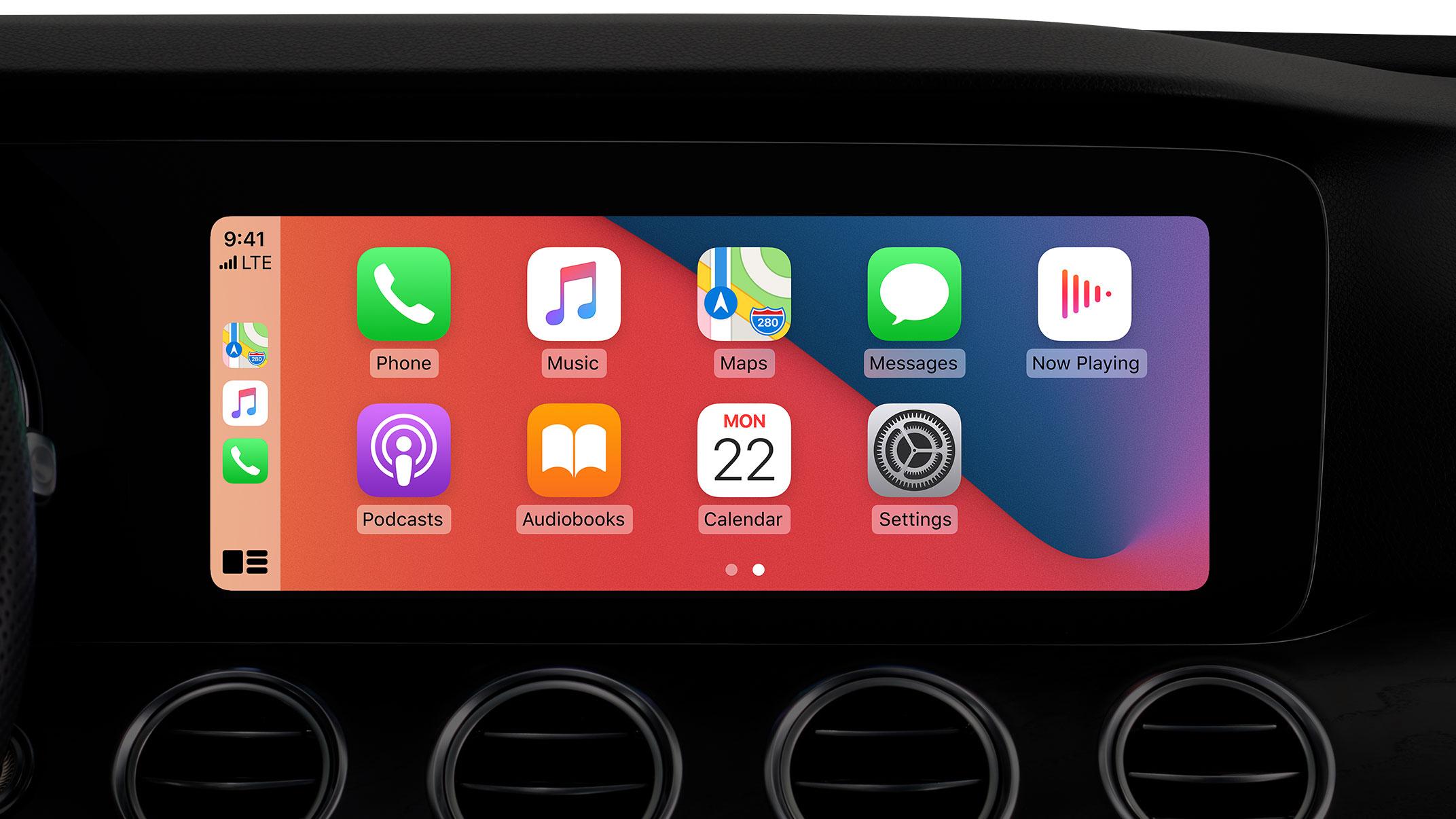 iOS 14 CarPlay