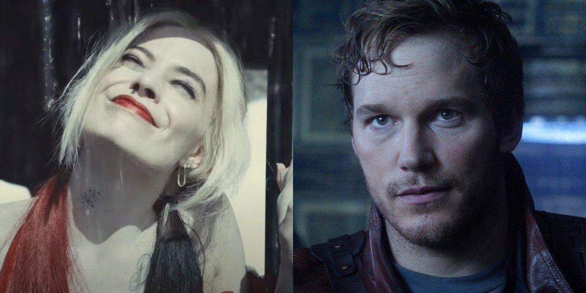 Harley Quinn and Peter Quill