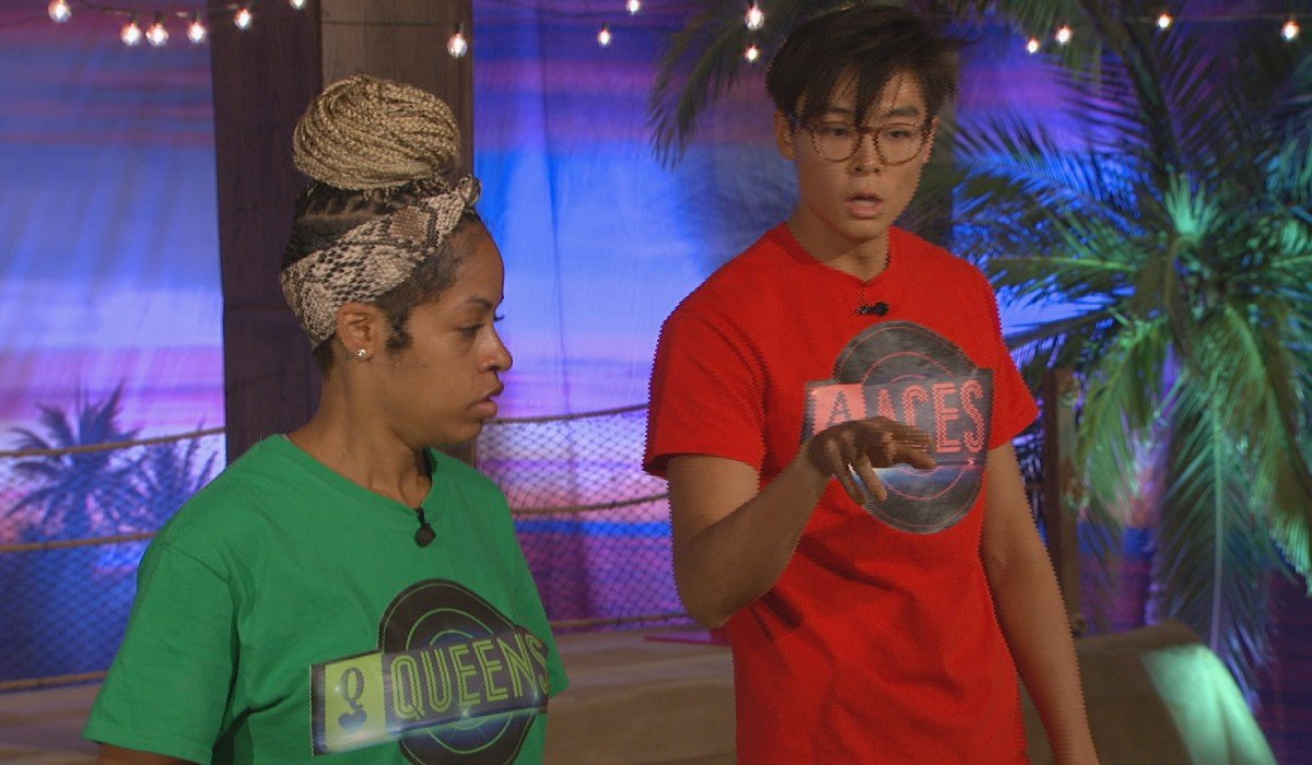 Tiffany and Derek X during the Wildcard competition