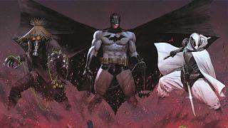 Batman Fear State covers