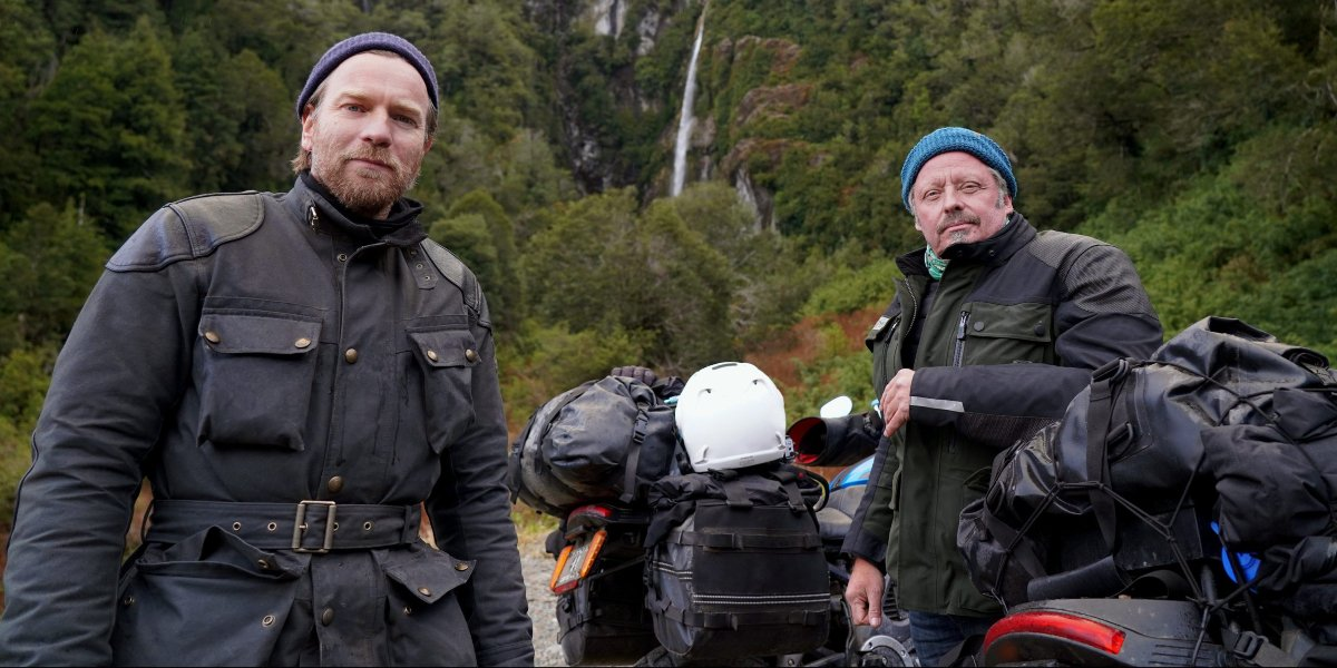 Ewan McGregor and Charley Boorman on Long Way Up